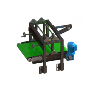 Bags press conveyor
